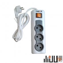 محافظ سه خانه صوتی تصویری امگا مدل R3000