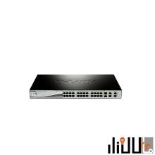 سوییچ 24 پورت هوشمند دی لینک مدل DES-1210-28P