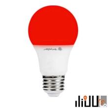 لامپ ال ای دی 9 وات رنگی پارس شعاع توس پایه E27
