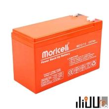 باتری موریسل 12 ولت 7.2 آمپر Moricell