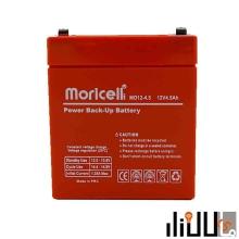 باتری سیلد اسید 12 ولت 4.5 آمپر moricell