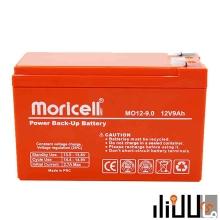 باتری سیلد اسید 12 ولت 9 آمپر موریسل Moricell